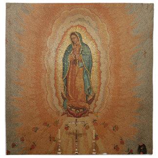 Vår dam av Guadalupe servetter
