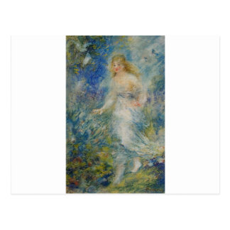 Vår (de fyra säsongerna) vid Pierre-Auguste Renoir Vykort