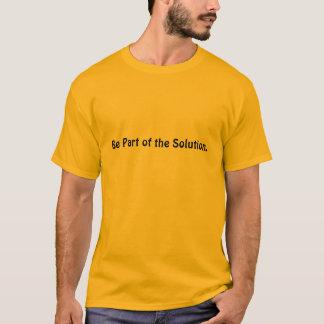 Var delen av lösningen t-shirts