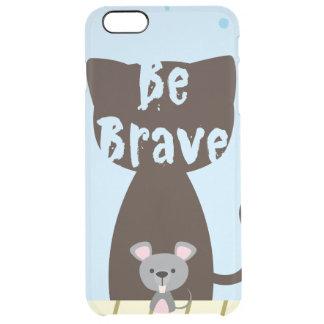 Var den modiga lite musen clear iPhone 6 plus skal