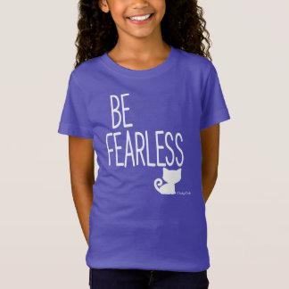 Var den oförskräckta inspirera kattT-tröja vid Tee