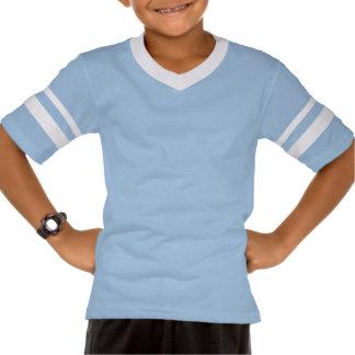 (var), den oförskräckta retro randiga skjortan t-shirt