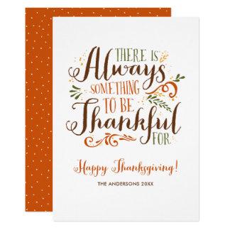 Var den tacksamma nyckfulla happy thanksgiving 12,7 x 17,8 cm inbjudningskort