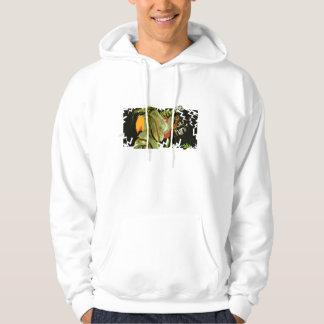 Var du tänker I-förmiddagT-tröja Sweatshirt Med Luva