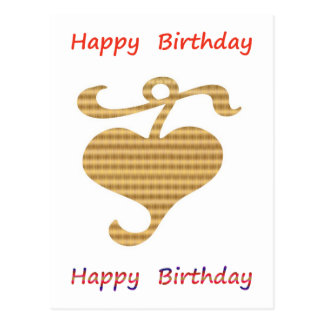 Var en ledare - var olik:  Grattis på födelsedagen Vykort