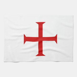 Var en riddare Templar! Kökshandduk