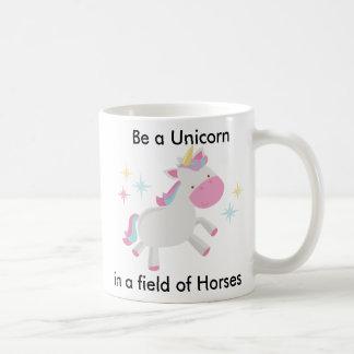 Var en Unicorn Kaffemugg