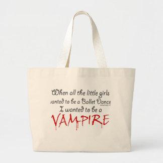 Var en vampyr jumbo tygkasse