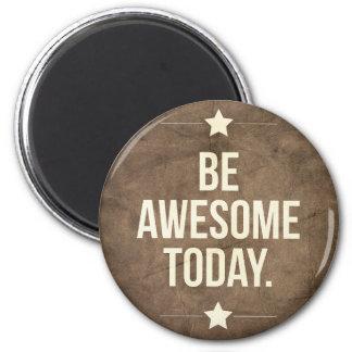 Var enorm i dag magnet