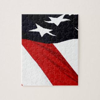 Vår flagga pussel