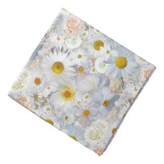 Vår för blom- bröllop för vitblommabukett brud- kerchief