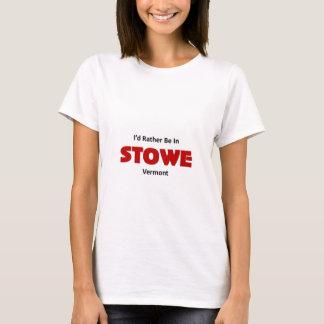 Var ganska i Stowe T-shirts