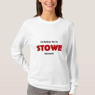 Var ganska i Stowe Tröja