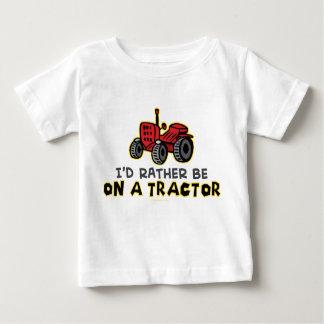 Var ganska på en traktor t-shirt