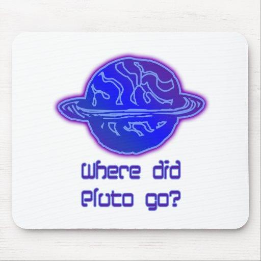Var gick Pluto? Mus Matta