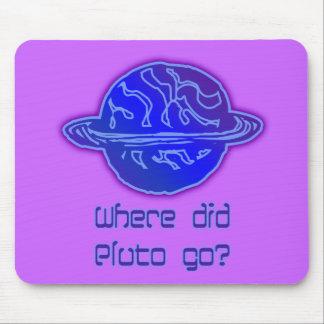 Var gick Pluto? Mus Mattor