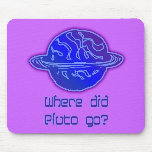 Var gick Pluto? Musmatta