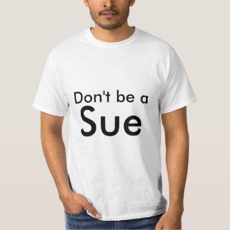 Var inte en stämma tee shirt