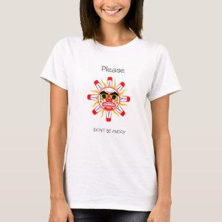 Var inte ilsken t-shirts