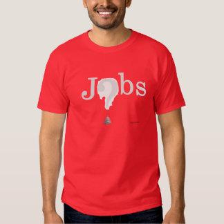 var jobben på t-shirt