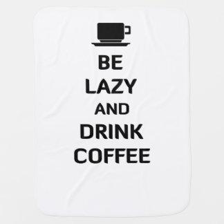 Var lat och drinkkaffe bebisfilt