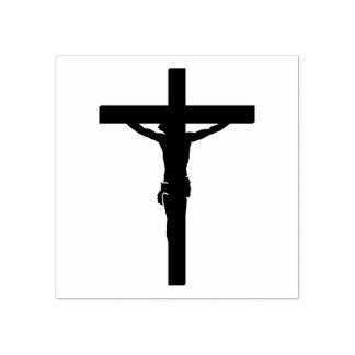 Vår Lord Jesus Kristus på kor/crucifixen Stämpel