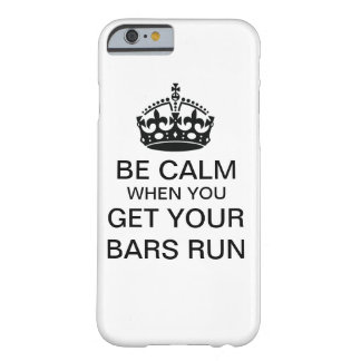 Var lugna, när du får dina pubar kör barely there iPhone 6 skal