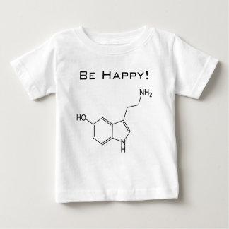 Var lycklig! SerotoninspädbarnT-tröja Tee