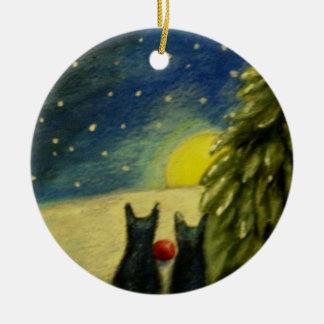 Vår mest fina gåva som vi kommer med julgransprydnad keramik