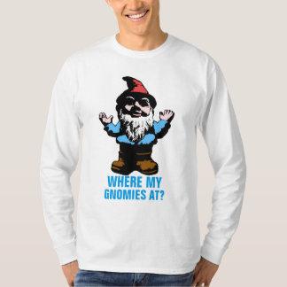 Var min Gnomies på Tee Shirt
