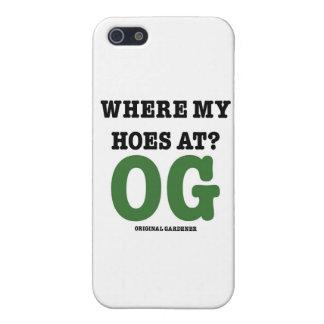 Var min Hoes på (original- trädgårdsmästaregrönt) iPhone 5 Skal