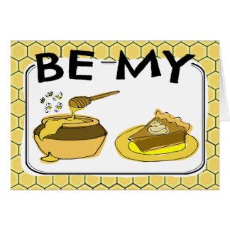 Var min honungpajvalentin OBS kort