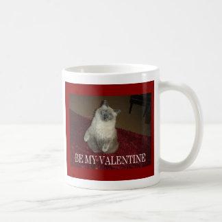 Var min valentinkatt kaffemugg