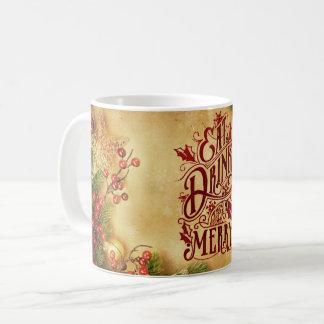 Var muggen för den god julhelgdagDecember vintern Kaffemugg