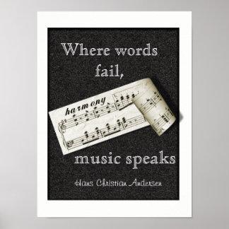 Var ordkuggning -- Affischkonst Poster