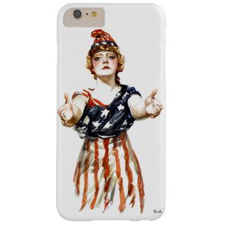 """""""Var patriotisk"""" WWI-damfrihet Barely There iPhone 6 Plus Skal"""