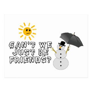 Var precis vänner vykort