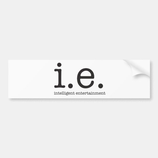 Vår särskiljande logotyp bildekal