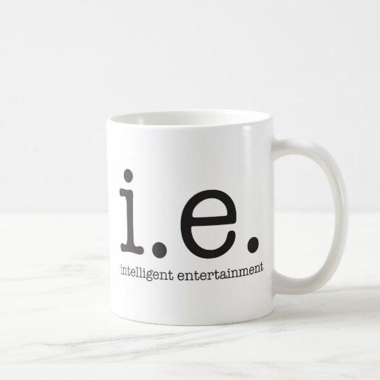 Vår särskiljande logotyp kaffemugg