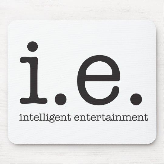 Vår särskiljande logotyp musmatta