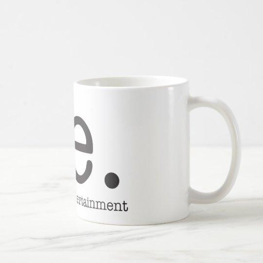 Vår särskiljande logotyp vit mugg