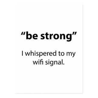 Var stark vykort