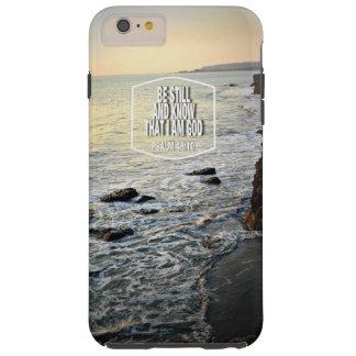 Var stillbilden och vet strandklippan på tough iPhone 6 plus skal