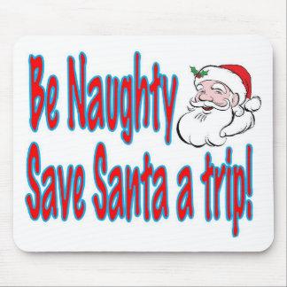 var stygg sparar Santa en resa Musmatta