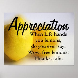 Var tacksam och räkna dina välsignelser (v) poster