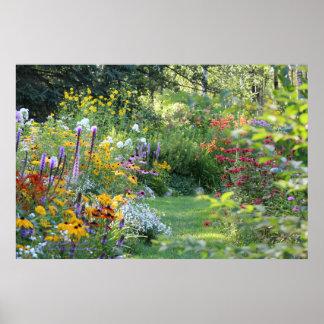 Var tre trädgårdar möter poster