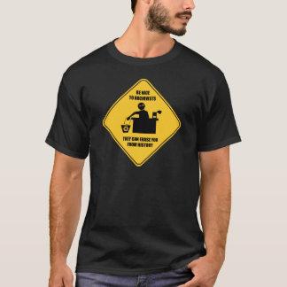 Var trevlig till arkivarier tee shirt