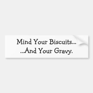 Vara besvärad dina kexar ...... och din Gravy. Bildekal