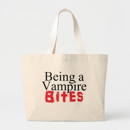 Vara en vampyr biter kassar