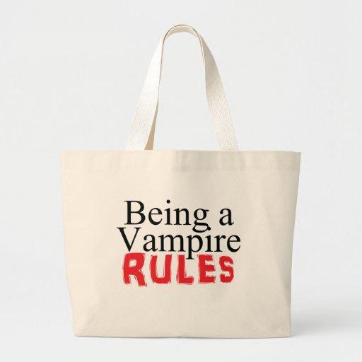 Vara en vampyr härskar tygkassar